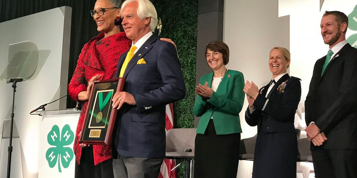 UA Alumnus Bob Baffert honored by National 4-H Council