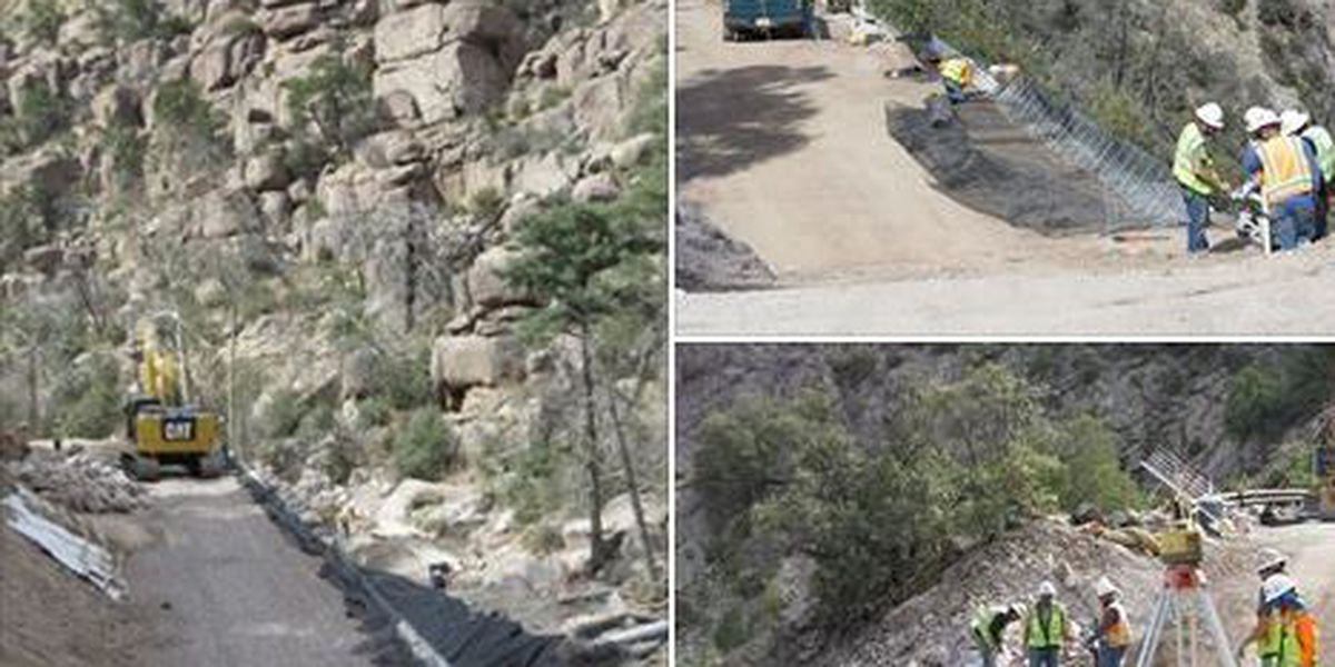 Chiricahua National Monument scenic drive closure continues