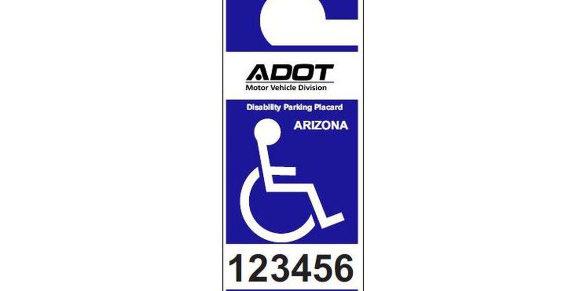 No more expiration dates for portable permanent MVD disability placards