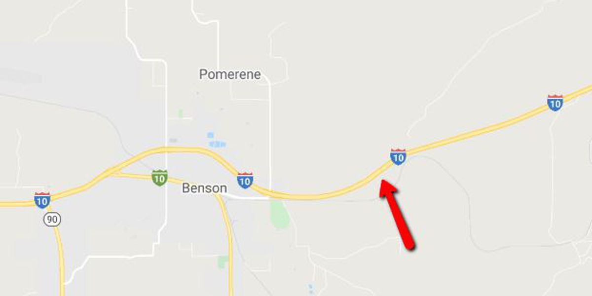 UPDATE: Crash restricts eastbound I-10 near Benson