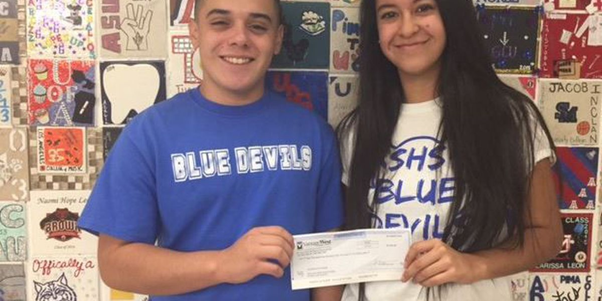 Sunnyside High School Student Council donates to Hurricane Harvey relief