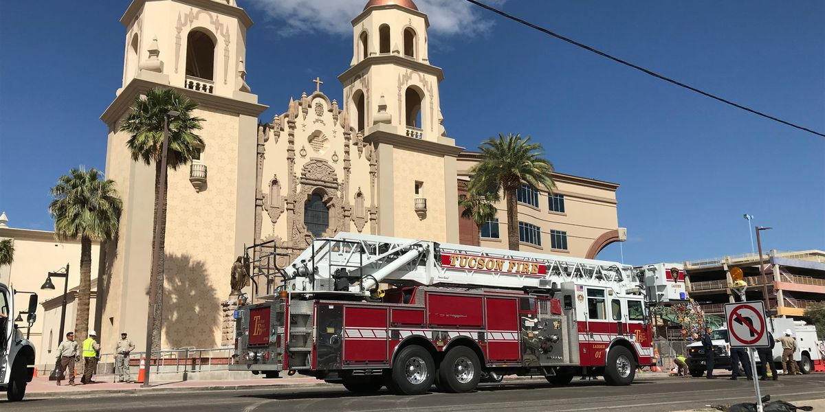 UPDATE: Gas line break near St. Augustine Cathedral