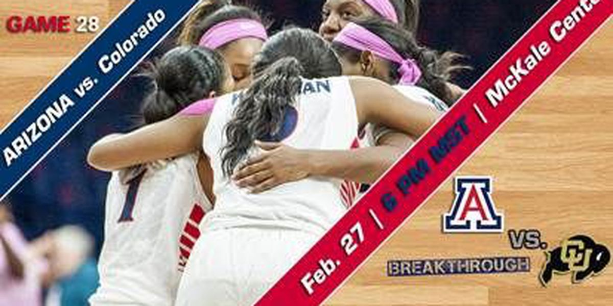 Wildcats Begin Final Homestand With Colorado on Friday