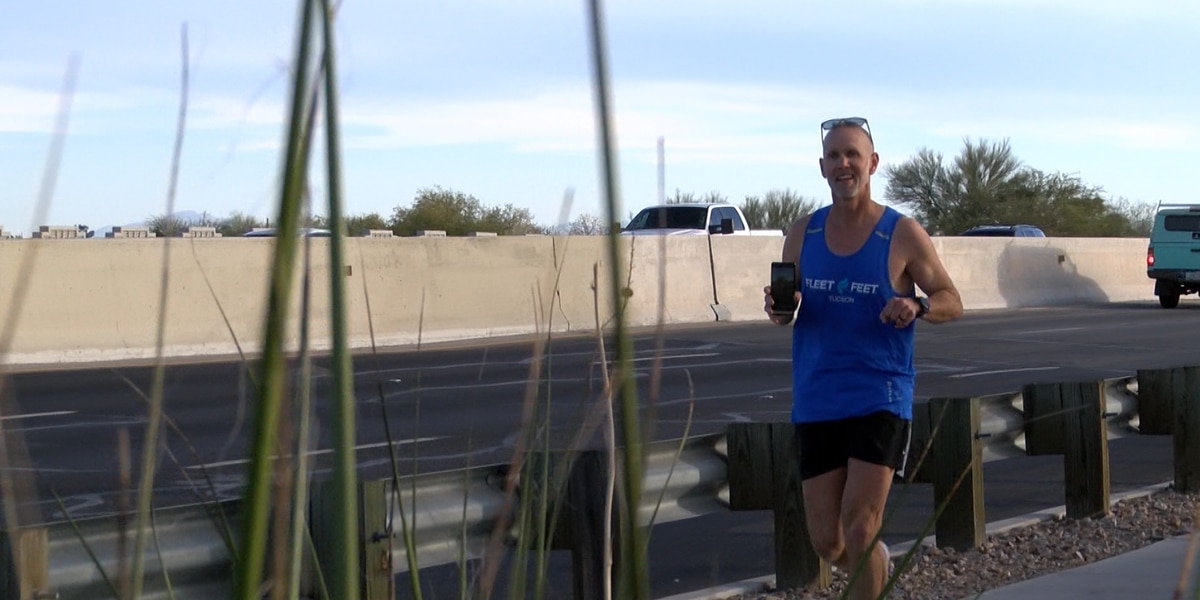 Long-distance runner goes the extra mile to fight hunger