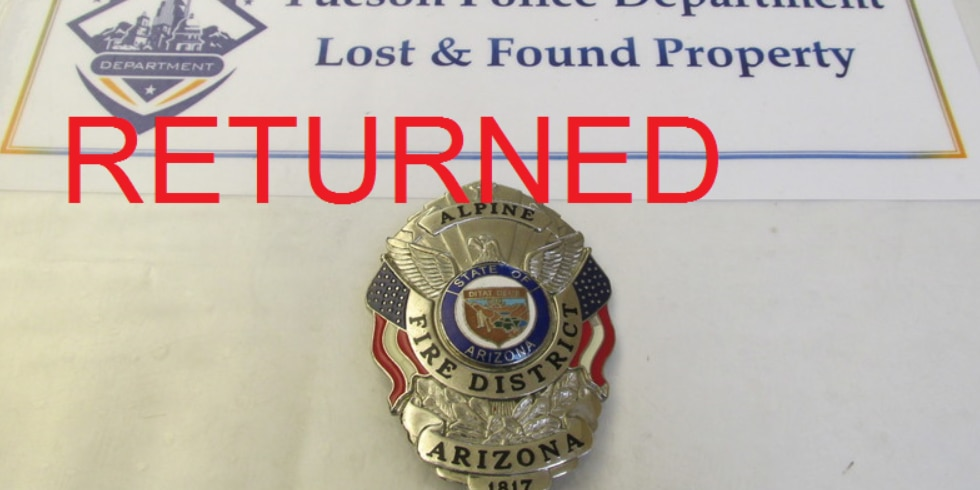 Tucson police hoping to help you find lost valuables