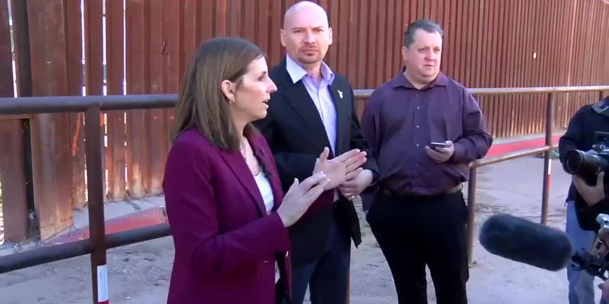 Sen. McSally in Nogales to visit with Border Patrol