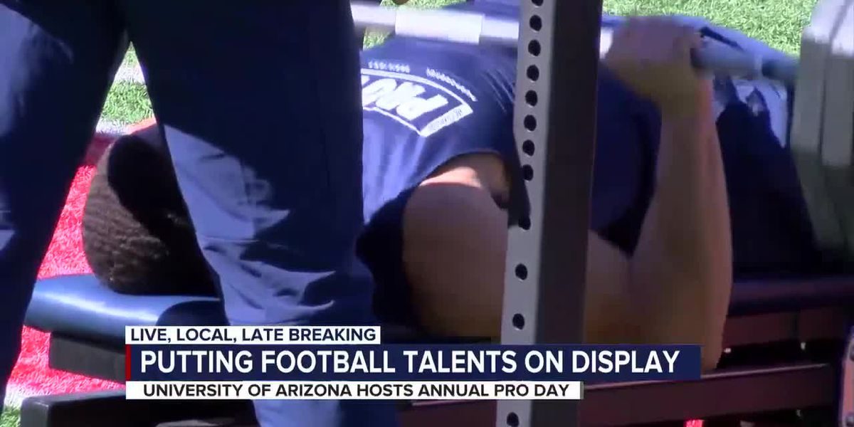 University of Arizona football hosts Pro Day