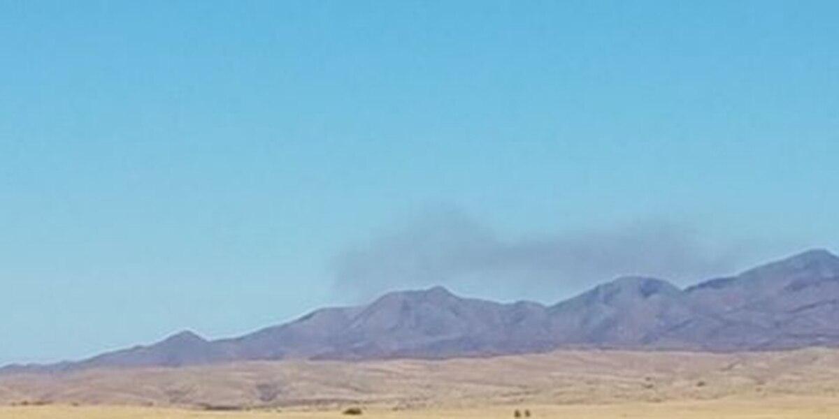 Fuego cerca de Benson crece a más de 300 acres