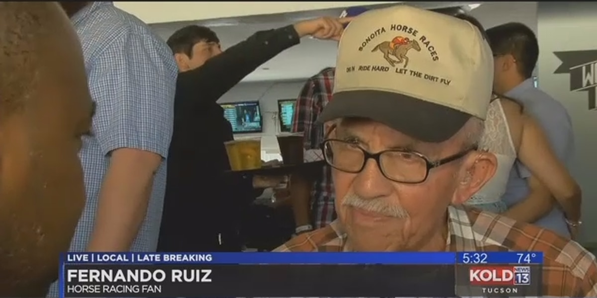 89 year-old reflects on long history at the horse track