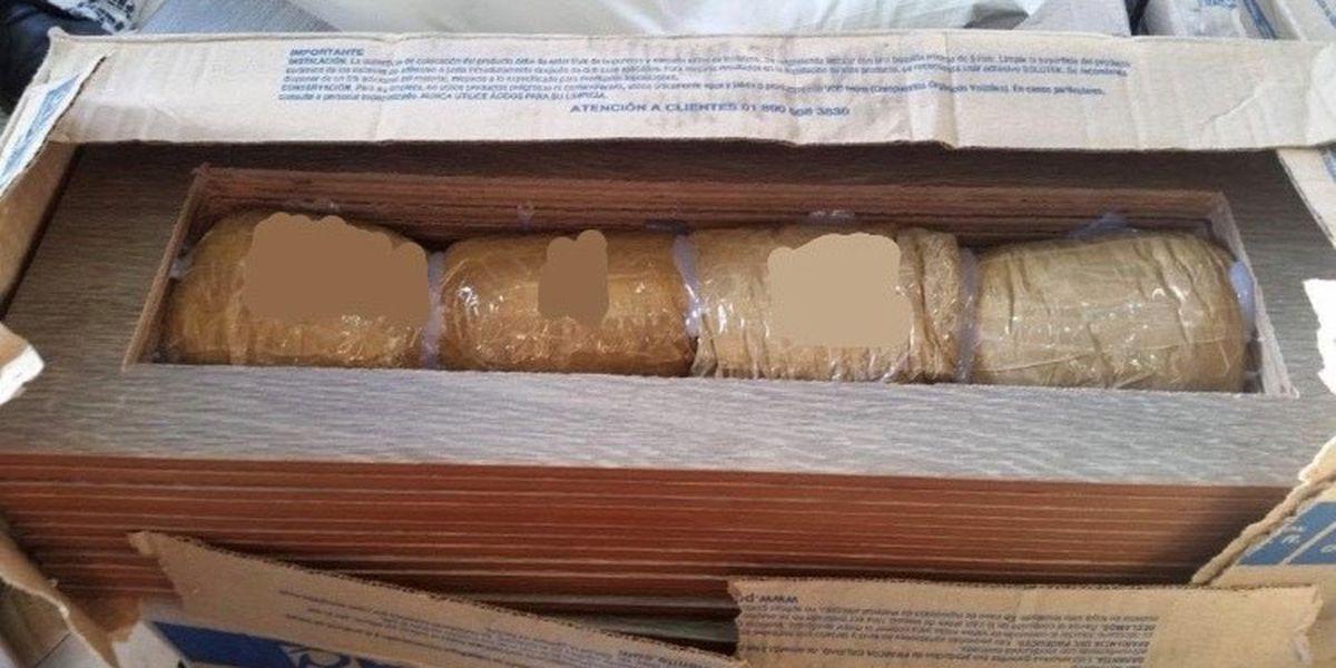 Nogales CBP Officers find narcotics hidden in boxes of floor tile