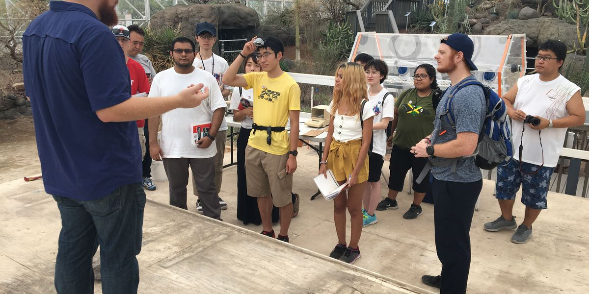 International Space Camp at Biosphere 2 helping humans get to Mars