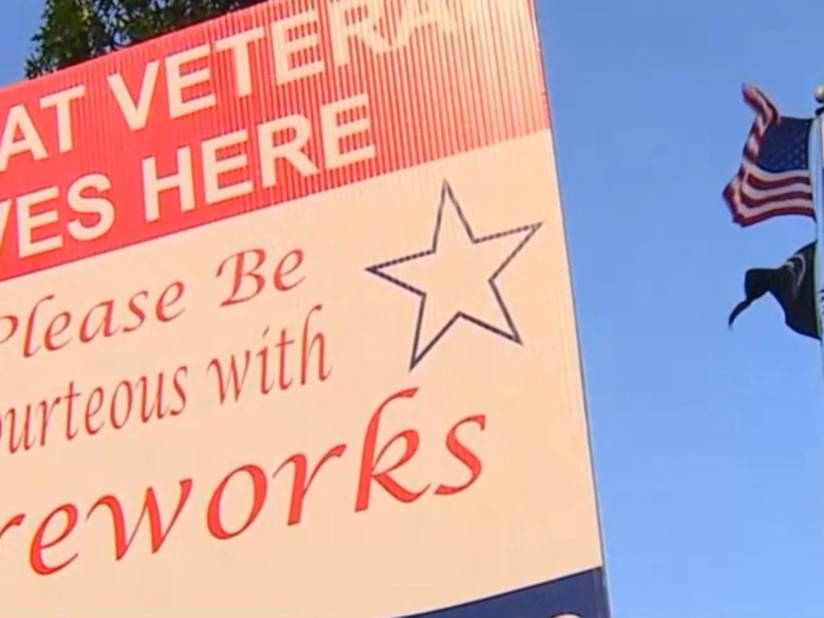 Fireworks can trigger flashbacks for some vets with PTSD