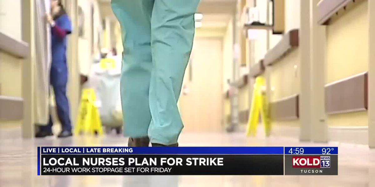 Nurses prepare to go on strike