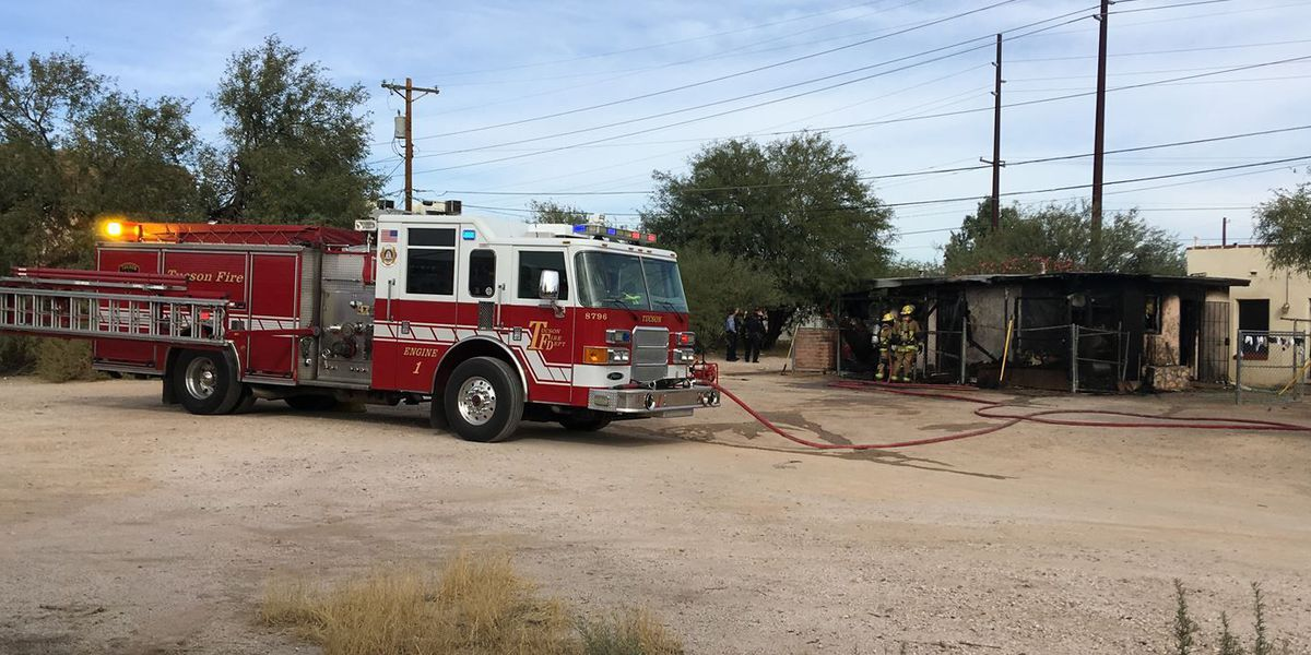 Tucson boy attempts to put out guest house fire with garden hose