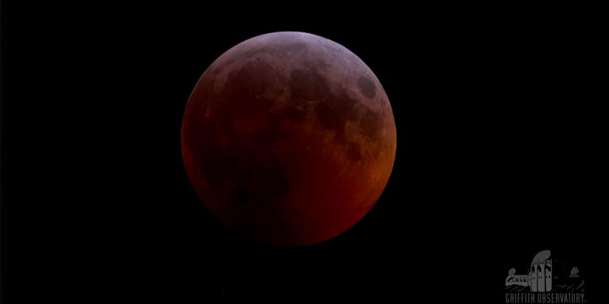 WATCH: Time-lapse video of super blood wolf moon