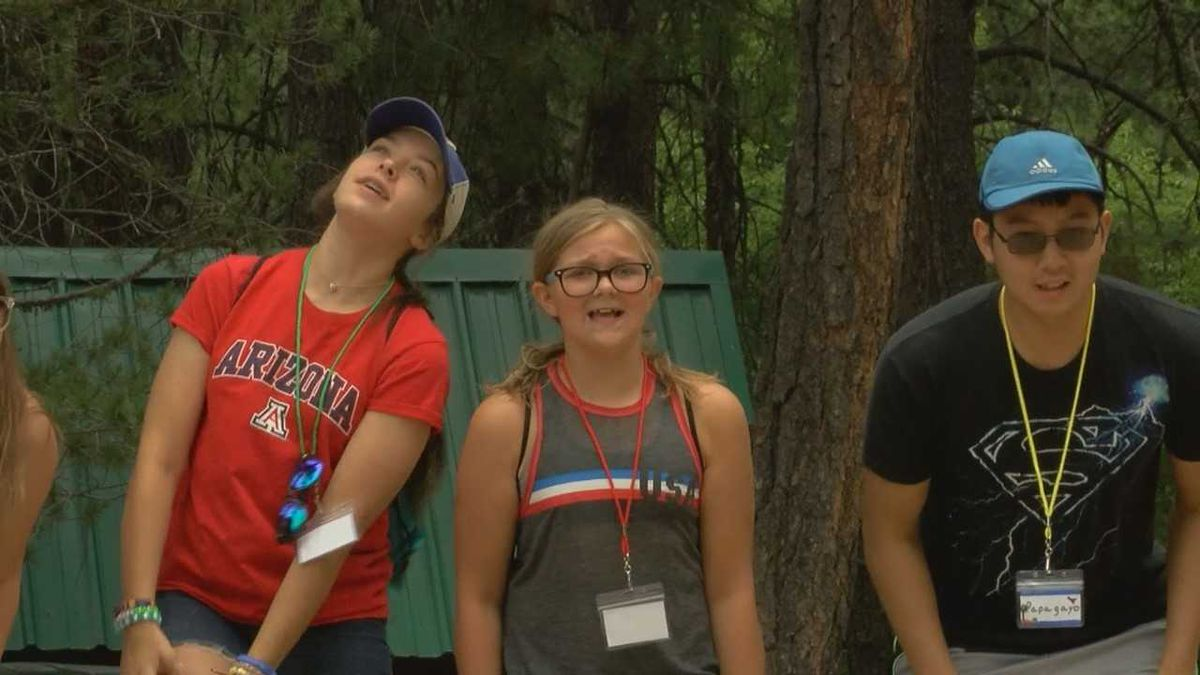 Camp Kesem gives kids a place to connect for the first time in Tucson