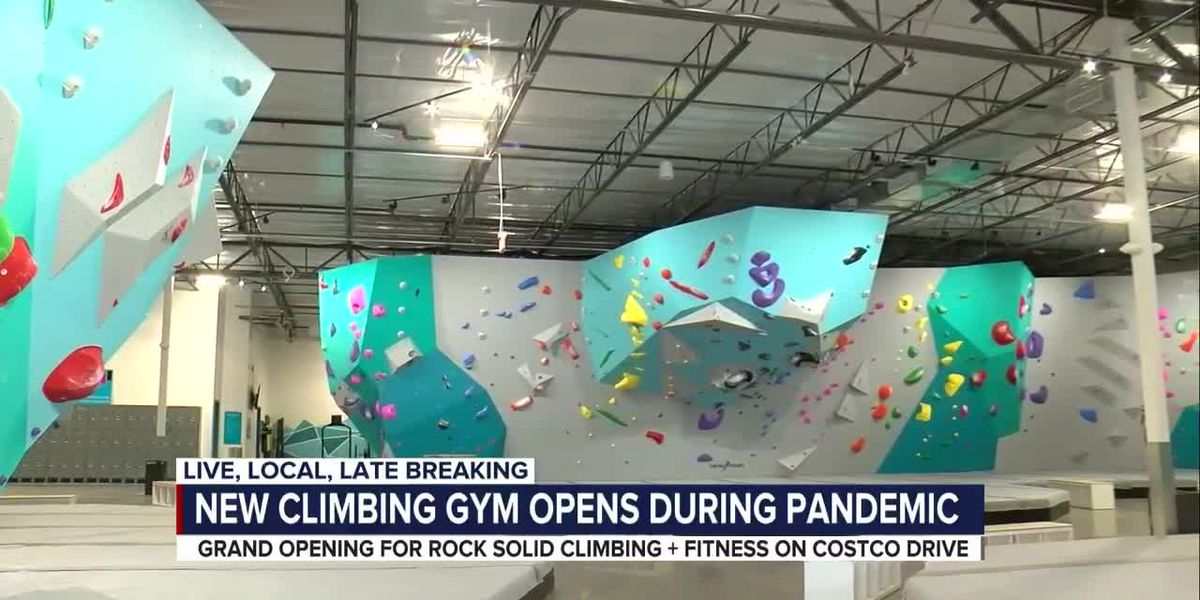 New climbing gym opens during pandemic