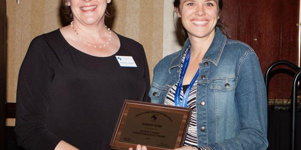 Marana HS teacher receives George C. Wilson Leadership and Service Award