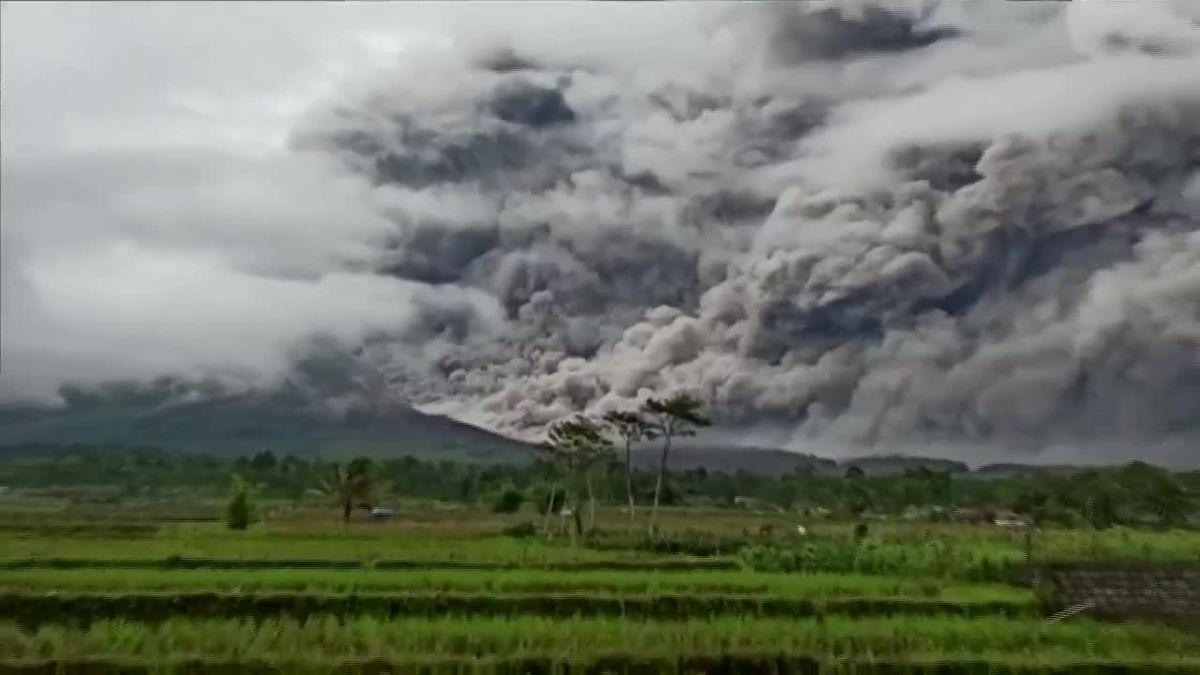 WATCH: Semeru Volcano erupts in Indonesia