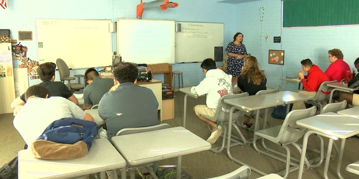 St. Augustine students prepare for installation of new Bishop