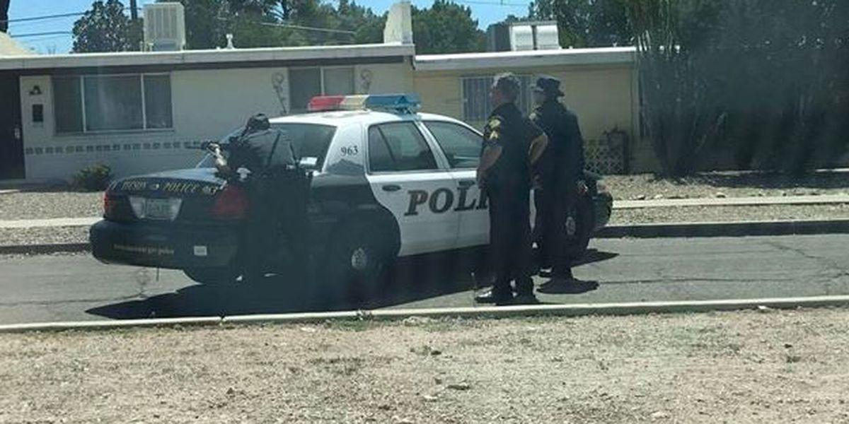 Stolen car report leads to heavy police presence near Irvington
