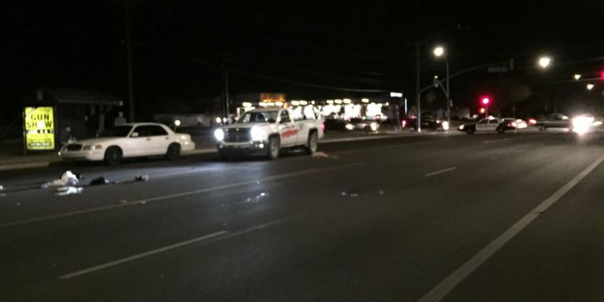 UPDATE: 12th Avenue back open in both directions after pedestrian crash