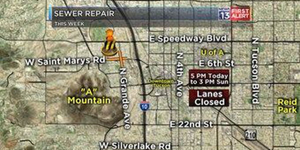 Sewer repair impacts west side traffic