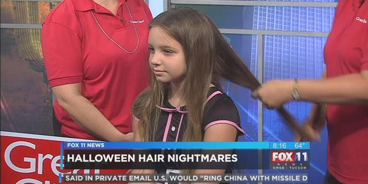 How to get candy/gum out of your child's hair this Halloween!