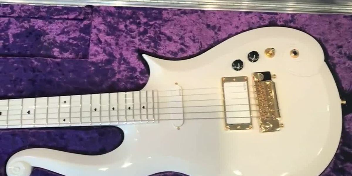 Maker of one of Prince's most-iconic guitars fights to keep his design