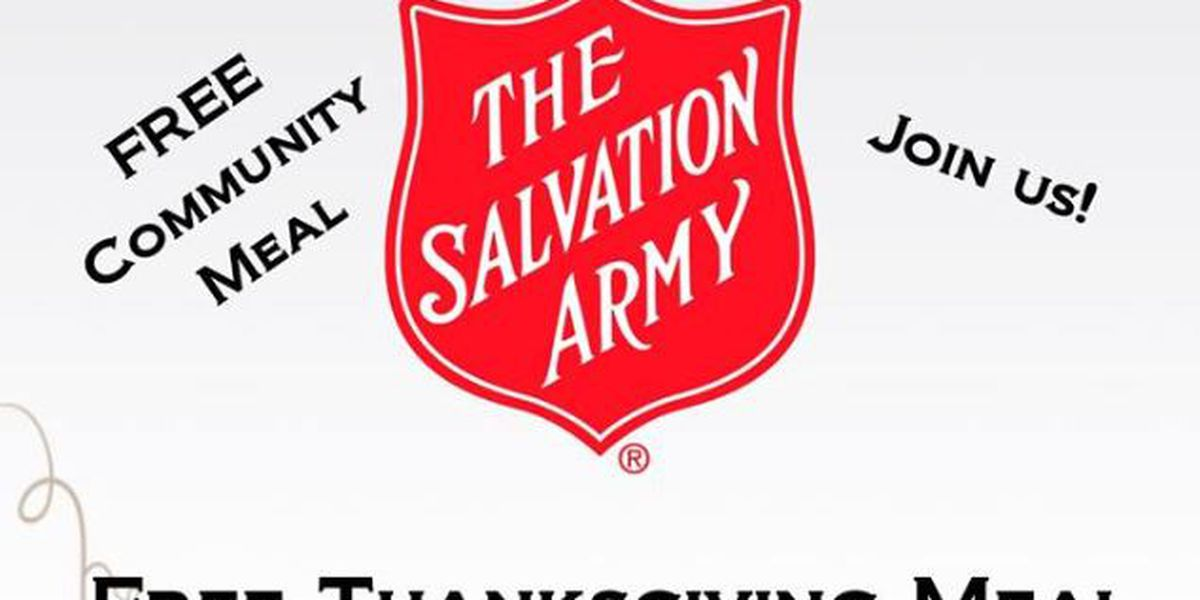 Salvation Army to host 34th Annual Thanksgiving Dinner