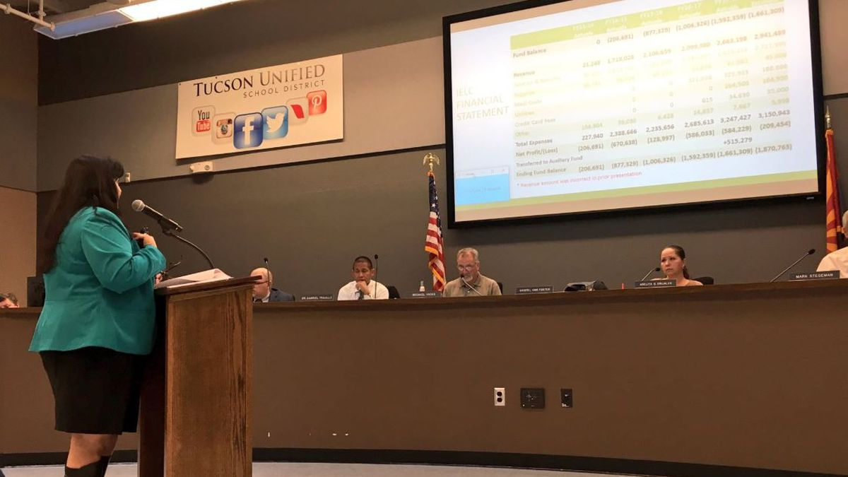TUSD Governing Board approves short-term financial plan for Infants Early Learning Centers