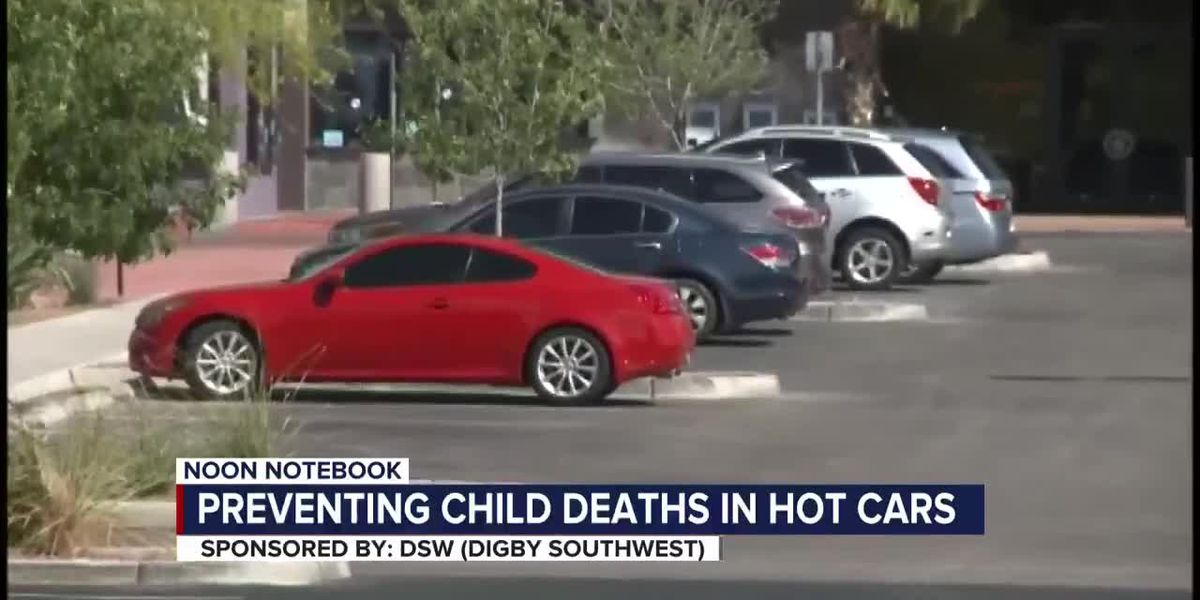 KOLD Noon Notebook: Preventing child deaths in hot cars