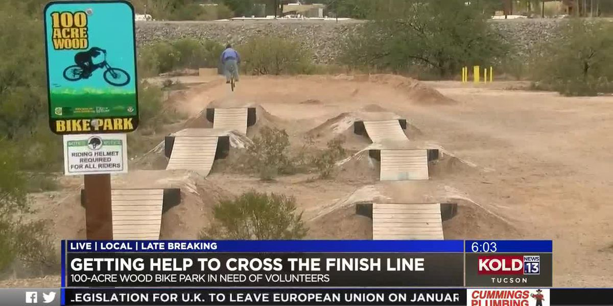 Group needs volunteers to help put finishing touches on bike park