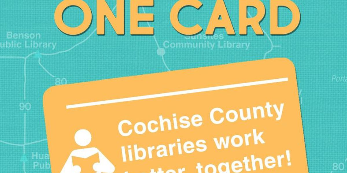 One County, One Card means convenience for Cochise County readers