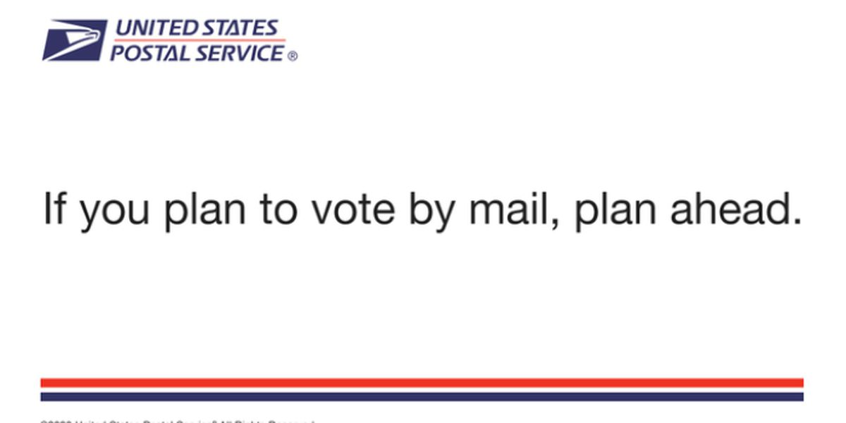 U.S. Postal Service to send out millions of postcards with election information