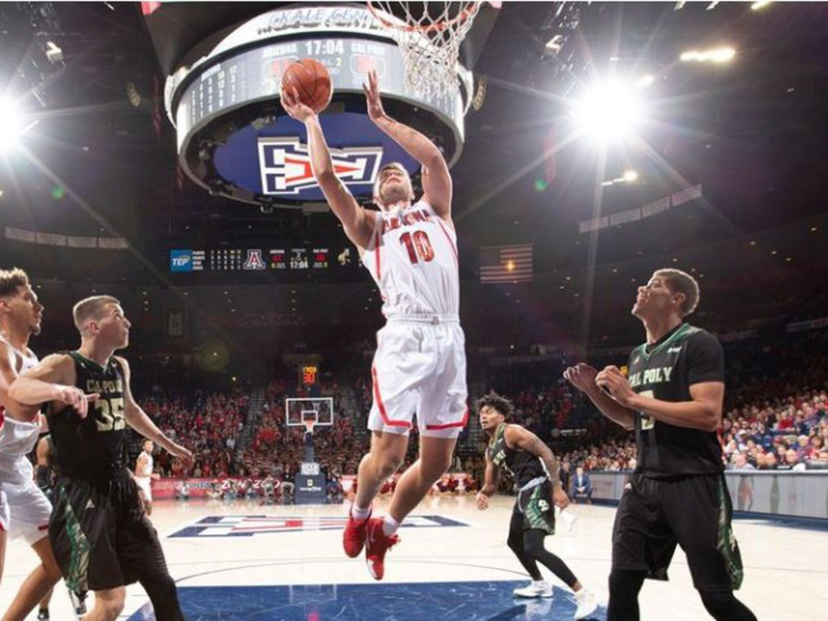 BEAR DOWN: Arizona rolls past Cal Poly 82-61