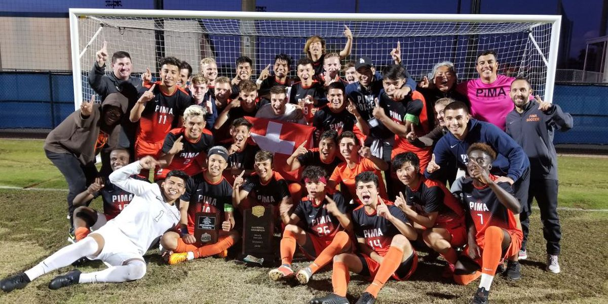 CHAMPS! Pima Soccer wins national title