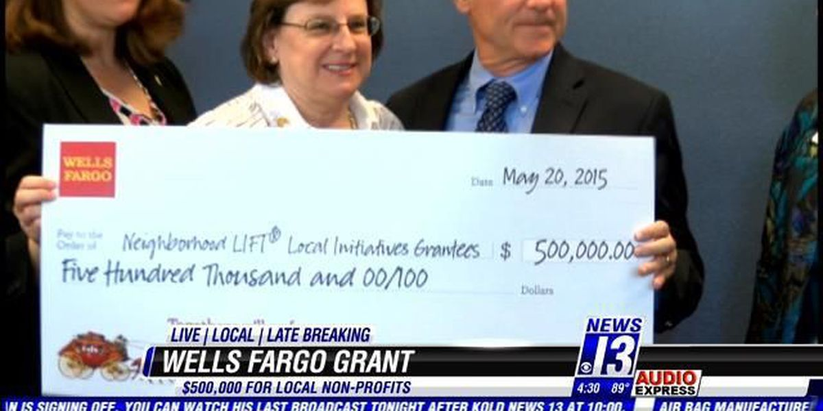 $500,000 grant benefits 7 Tucson nonprofits