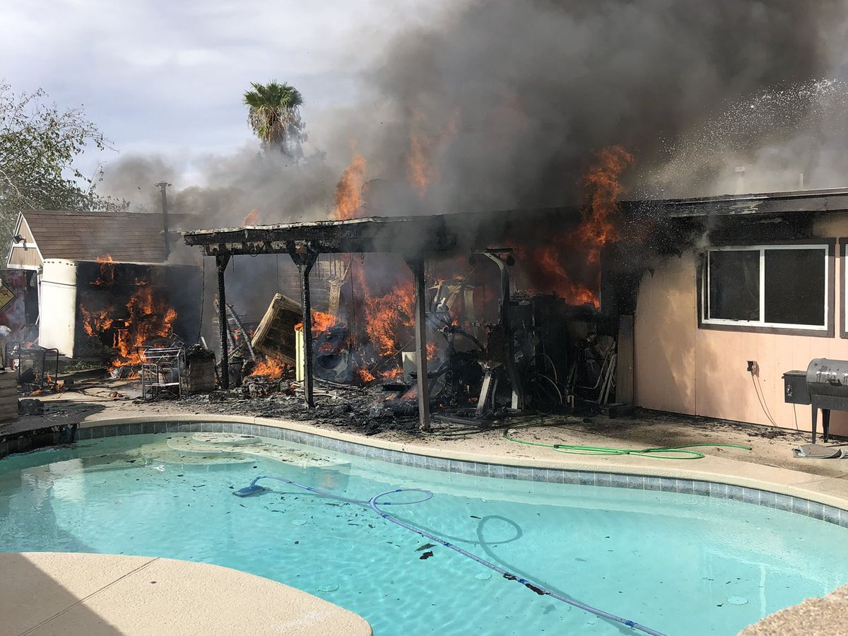 Northwest Fire responds to house fire near Ina Road and I-10