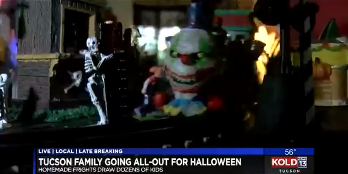 Tucson couple goes all out for Halloween