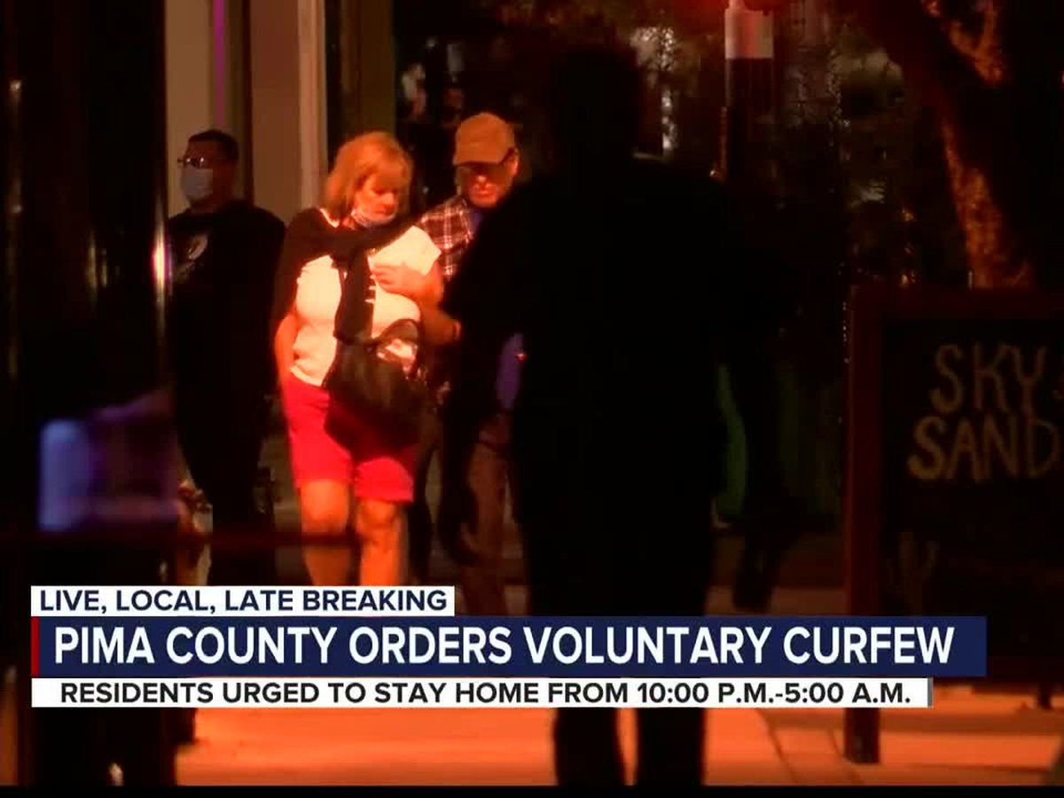 Voluntary curfew takes effect in Pima County