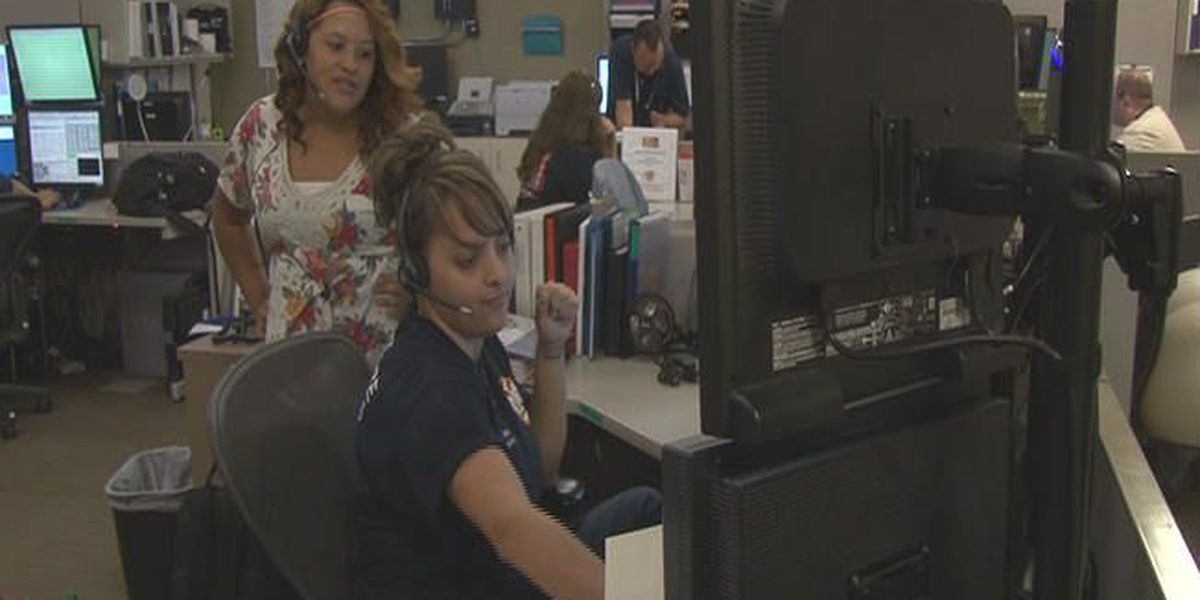 Monsoon can wear thin the resources at 911 center