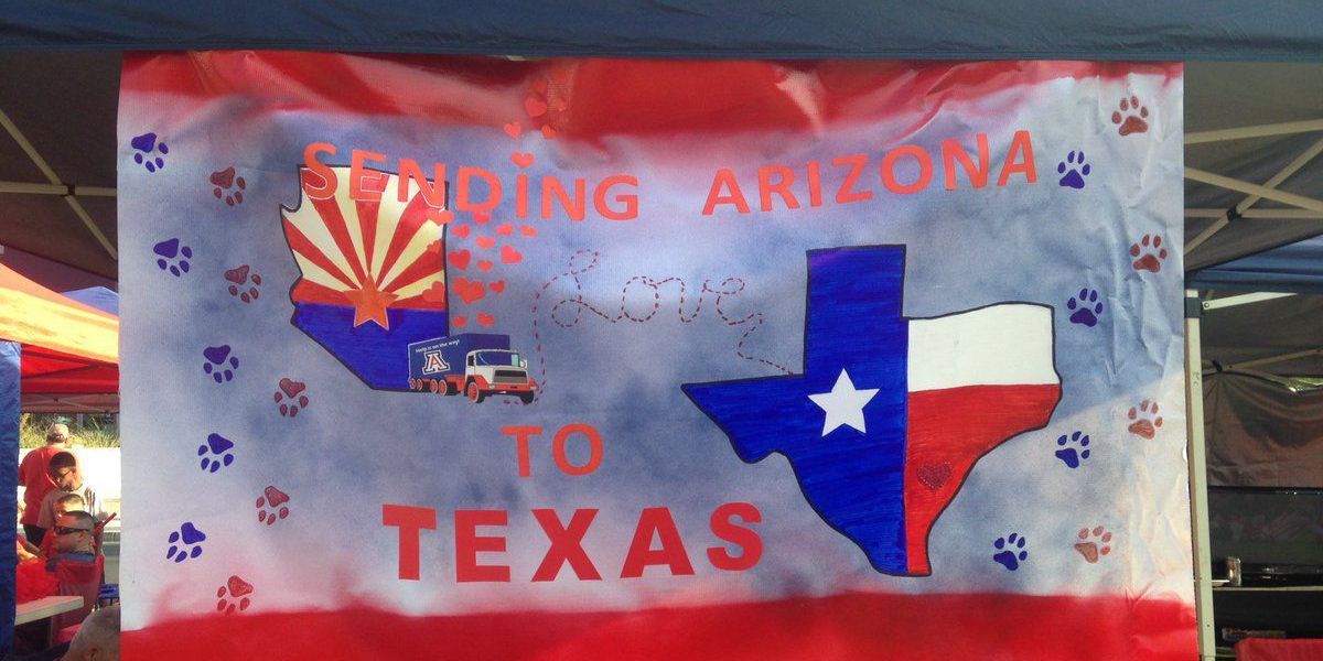 Wildcat fans show support for Houston at U of A game