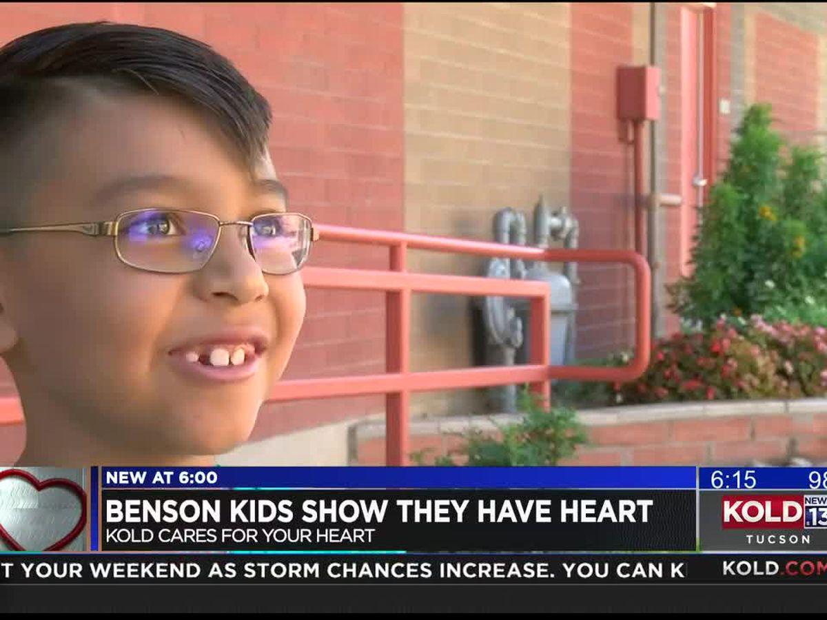 KOLD CARES: Two Benson boys raise money to 'help people ... save lives'