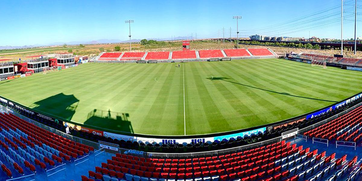 Phoenix Rising FC to allow nearly 1,000 fans attend match in Scottsdale
