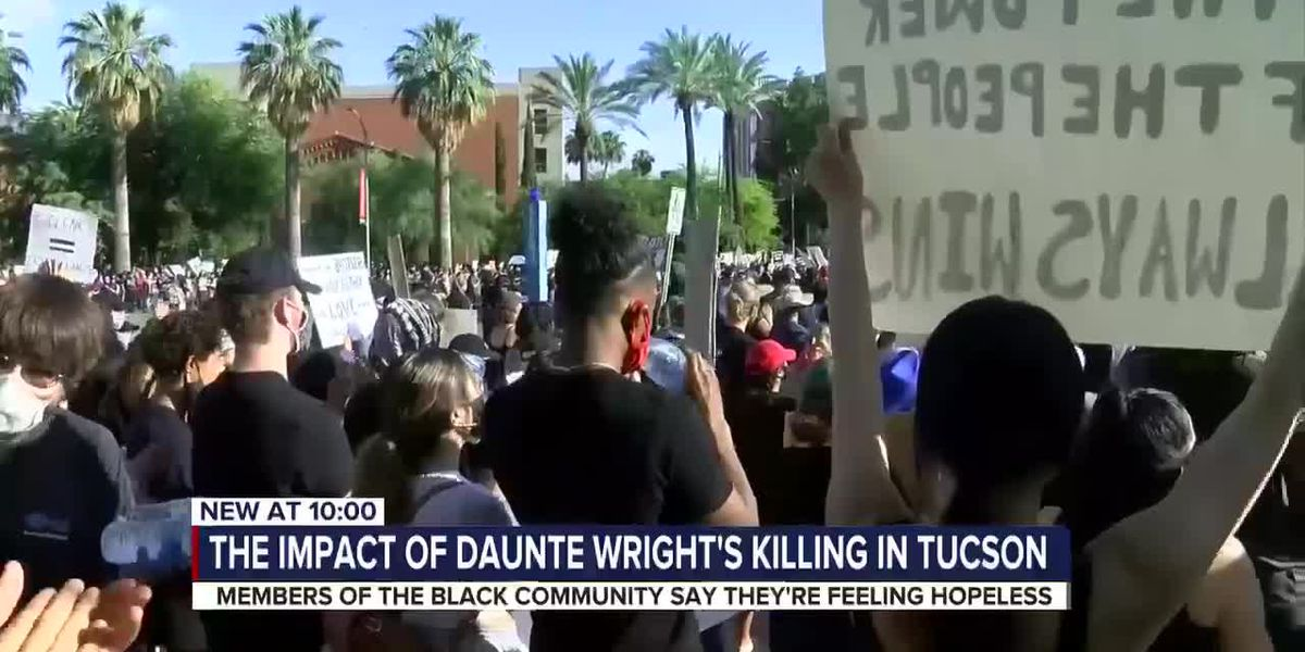 """We have to add human to humanity,"" Local organizer speaks on Daunte Wright's shooting"