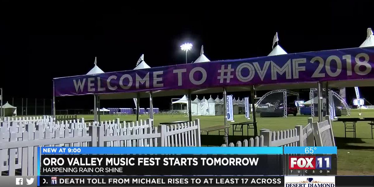Oro Valley Music Festival starts tomorrow