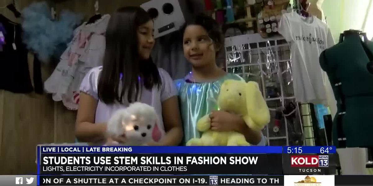 TUSD students combine technology with fashion design