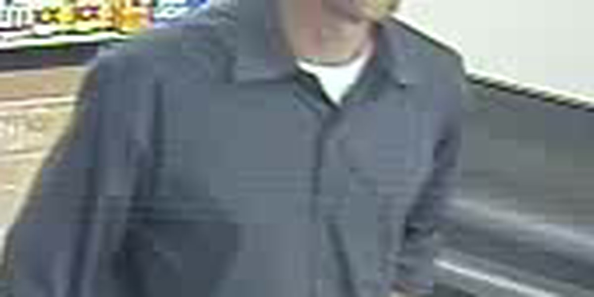Police searching for counterfeiter