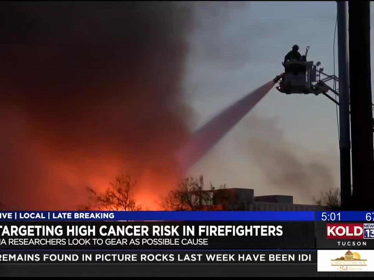 UA researchers look at potential cancer risks to firefighters